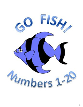 Numbers 1-20 Go Fish!