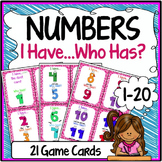 Numbers {Speaking & Listening I Have, Who Has Game}