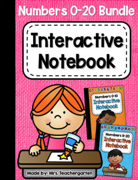 Numbers 1-20 Interactive Notebook (The Bundle)