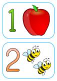 Numbers 1-20 - Medium - Horizantal