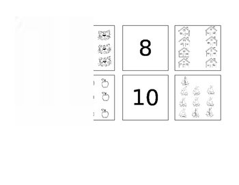 Numbers 1-20 Matching Game