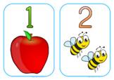 Numbers 1-20 - Medium - Vertical