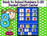 Numbers 1-20 Pocket Chart Center