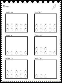 Numbers 1-20 Practice