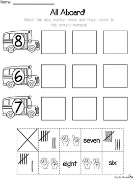Numbers 1-20 Practice Printables