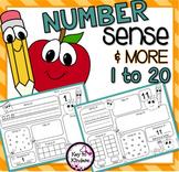 Number Sense 1-20 NO PREP Printables