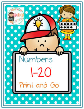 Numbers 1-20 Print and Go