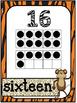 Numbers 1 - 20 Safari theme