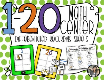 Numbers 1-20 Sorting Center {Counting and Cardinality}
