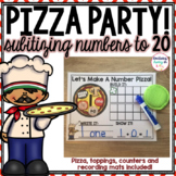 Numbers 1-20 - Subitizing Pizza Party