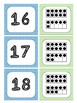 Numbers 1-20 Ten Frame Matching Cards