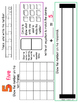 Numbers 1-20: Work mats for repeat RTI use {FREE SAMPLE}