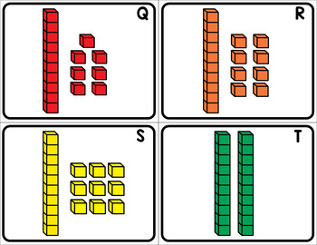 Numbers 1-20 - Write the Room Activity