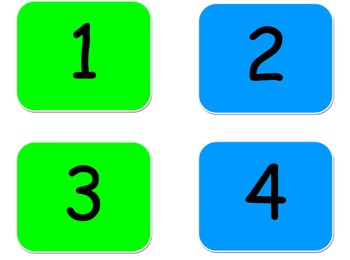 Numbers 1-24