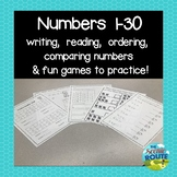 Numbers 1-30