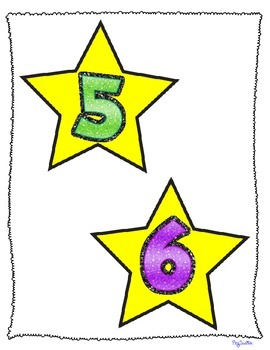 Numbers 1-30 Flash Cards, Number Line