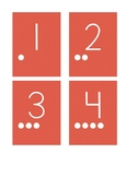 Numbers 1-30 Flashcards with Counting Visual