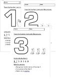 Numbers 1-30 worksheet