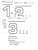 Numbers 1-30 worksheet