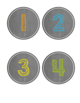 Numbers 1-31