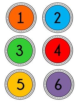Numbers 1 - 32