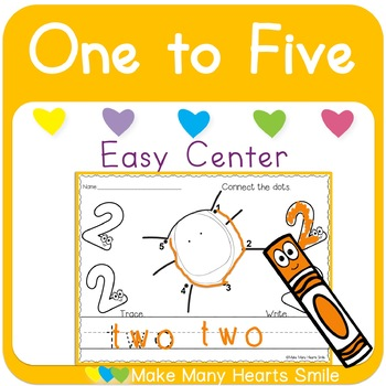 Dot to Dot: One to Five