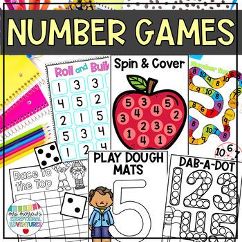 Numbers 1-5 Activities & Games {Number Sense}