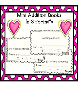 Numbers 1-5 Addition Fluency to Five