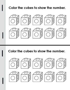 Numbers 1-5 Mini Books!