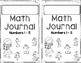 Numbers 1 - 5: Recognizing and Writing Numbers Mini Math Journal