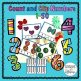 Count and Clip Numbers 1-50