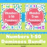 Numbers 1-50 Dominoes Bundle