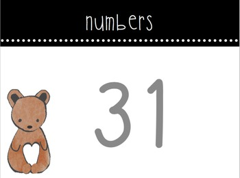 Numbers (1-50) & Fitness Brain Break