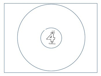 Numbers 1-9 Circle Maps