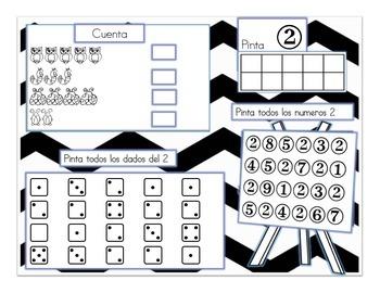 Spanish Numbers 1-9 /Los Numeros En Español del 1 al 9