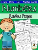 Numbers 0-120 Review Pages Pack