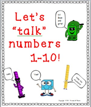 Numbers 1 through 10 - How Many Ones?