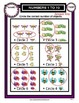 Numbers 1 to 10-Circle Correct Number of Objects -Kindergarten-Grade 1/1st Grade