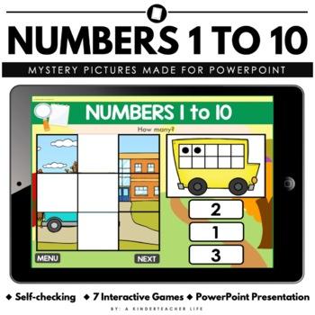 Numbers 1 to 10 Digital Game