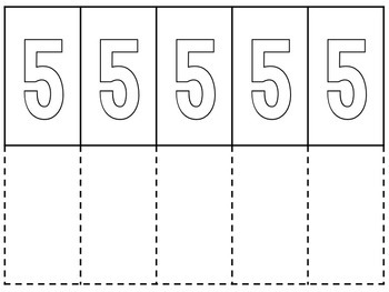 Numbers 1 to 10 Flipbooks