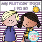 Numbers 1 to 10 ... Fun to make and count!
