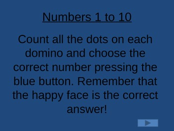 Numbers 1 to 10 Interactive Power Point