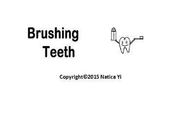 Numbers 1 to 10 Number Order Teeth Cut and Paste
