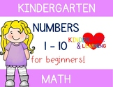 Numbers 1 to 10 {Practice for Beginners}