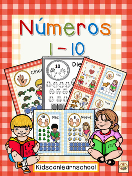 Numbers-1 to 10-Spanish