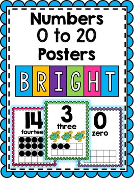 Number Posters: 0 to 20