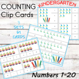 Count and Clip Cards 1-20