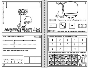 Numbers Books (1-20)