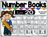 Number Books from 1 to 20