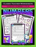 Numbers 1 to 20 -Learning Numbers from 11 to 20-Kindergart